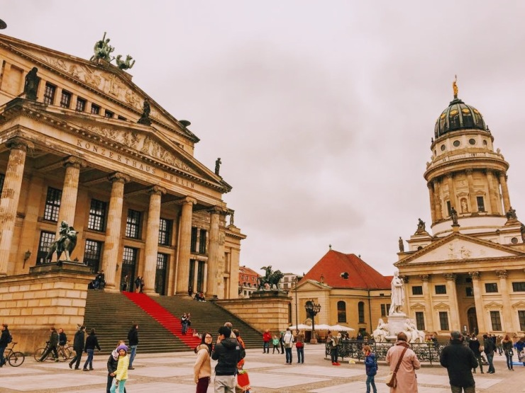 Berlin walking tour