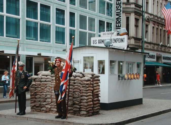 Berlin's Checkpoint Charlie