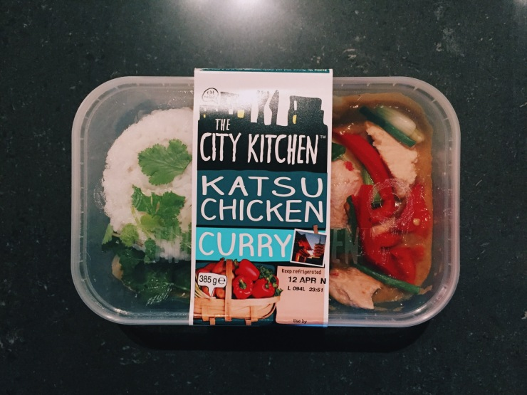 City Kitchen's Katsu Chicken Curry available from Tesco