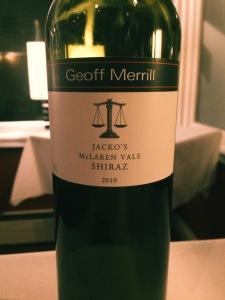 Geoff Merril Jacko's McLaren Vale Shiraz