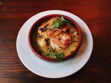 Cod and Prawn Thai Curry, Milton Keynes