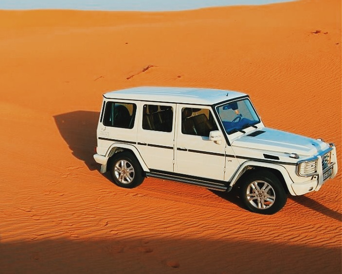 Mercedes G-Wagon on a Platinum Heritage tour
