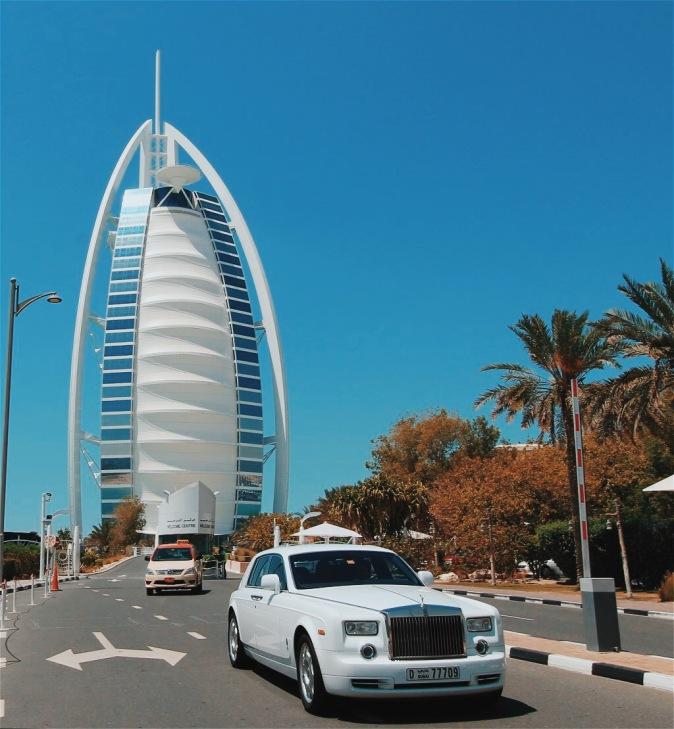 Dubai's Burj Al Arab Luxury Hotel on a private tour