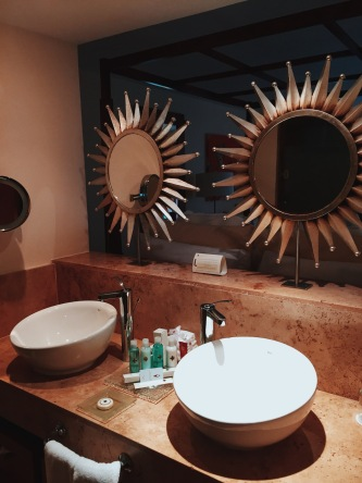 Luxury bathroom at Excellence Playa Mujeres