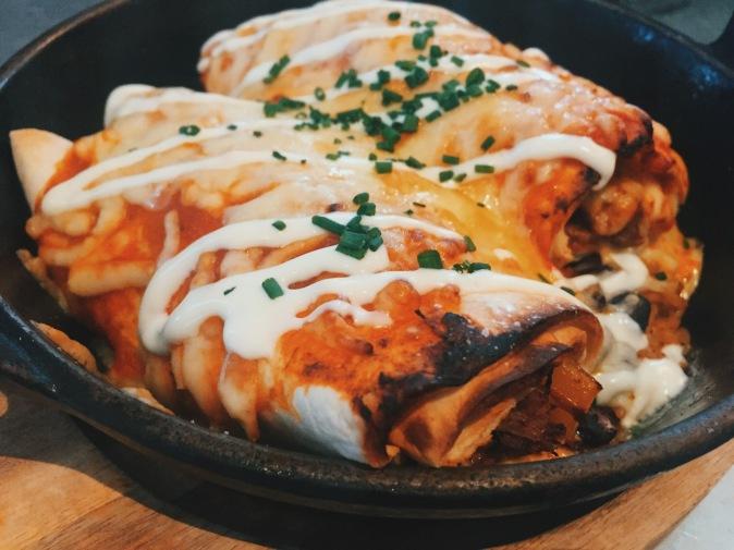 Chimichangas Milton Keynes: Pulled-beef Enchiladas