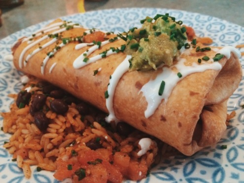 Chimichanga Milton Keynes: The signature Chimichanga