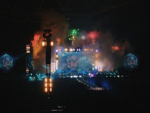 Coldplay perform 'Up and Up'