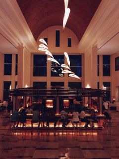 Excellence Playa Mujeres' lobby bar