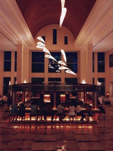 Excellence Playa Mujeres' lobby bar