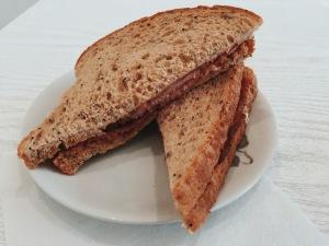 Heavenly Blends Bacon Sandwich Milton Keynes coffee shop
