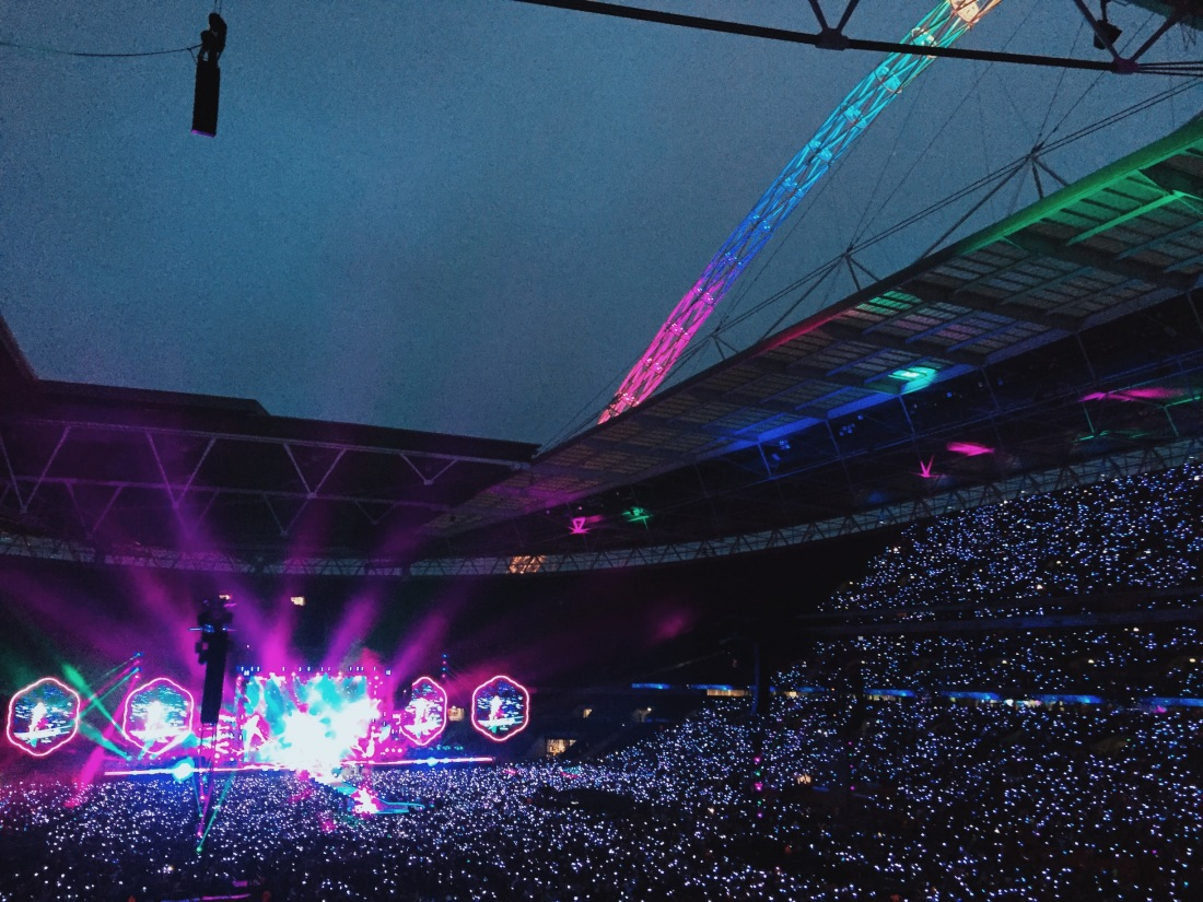 Coldplay's A Head Full of Dreams tour at Wembley live