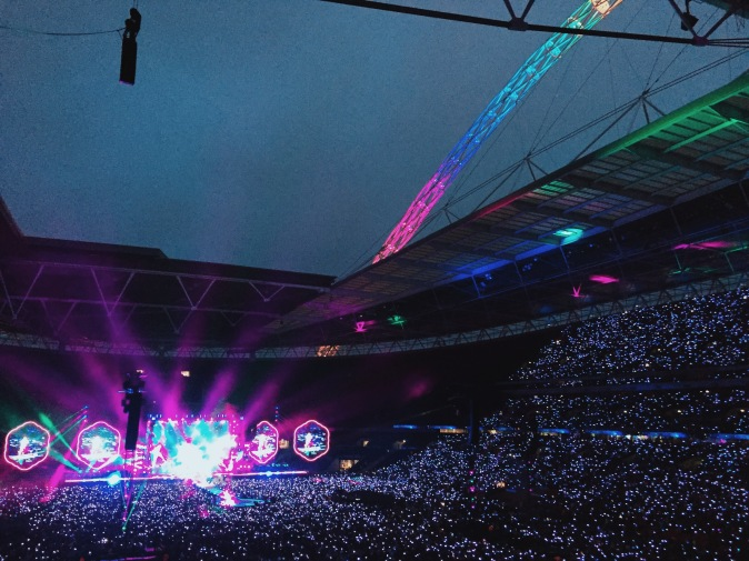 Coldplay's A Head Full of Dreams tour at Wembley live