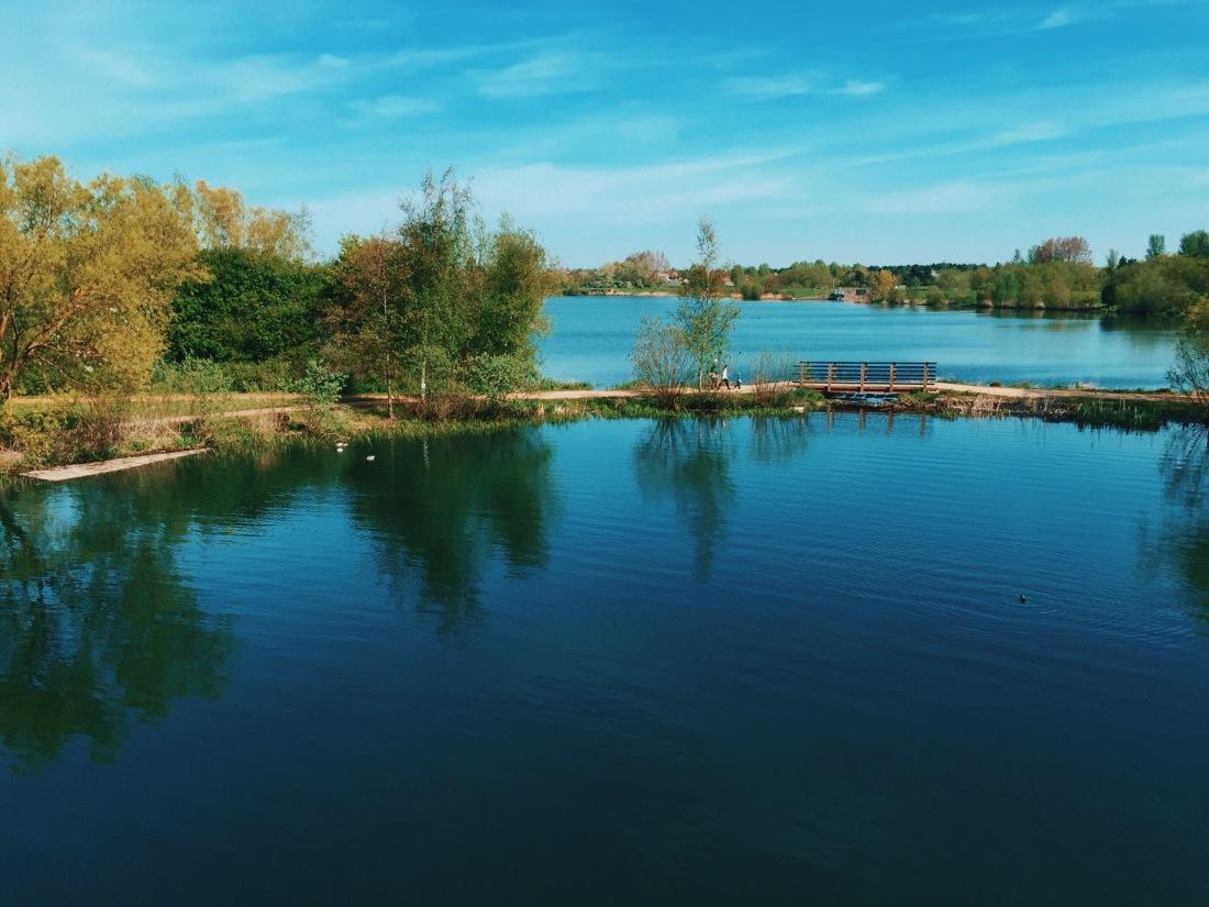 Milton Keynes: Willen Lake