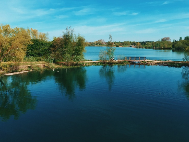 Milton Keynes: Willen Lake