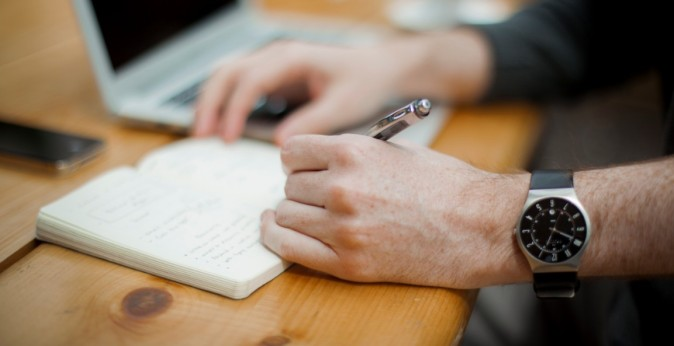 Don't be afraid to take notes in with you to your interview