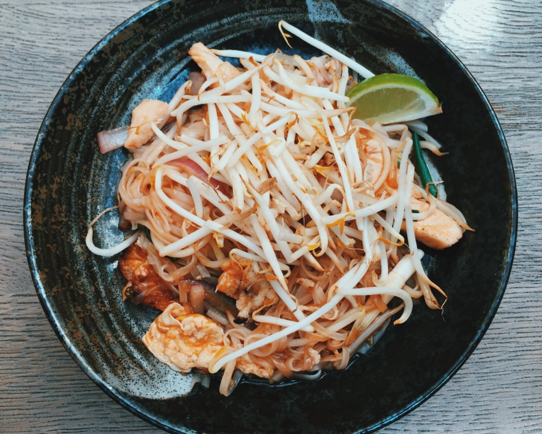 Pad Thai from Dim t, Charlotte Street