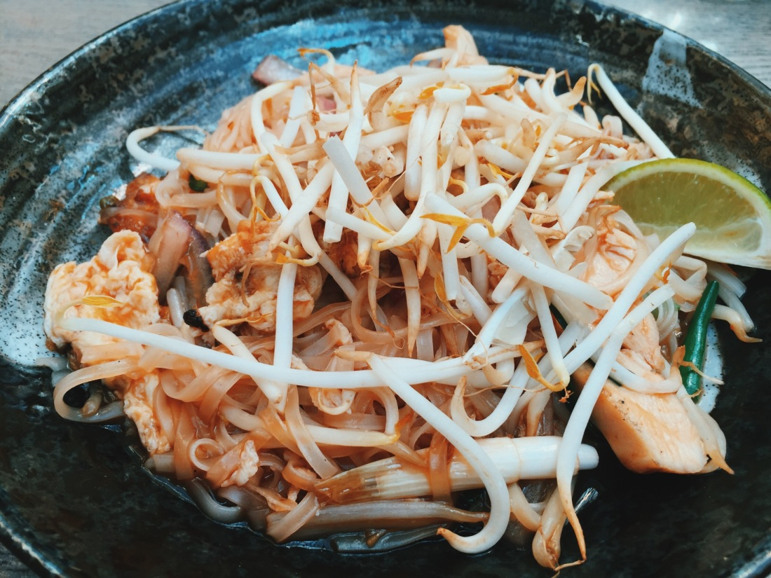 London Pad Thai at Dim t