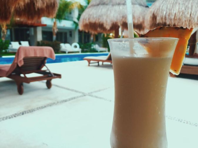 Pina colada all inclusive