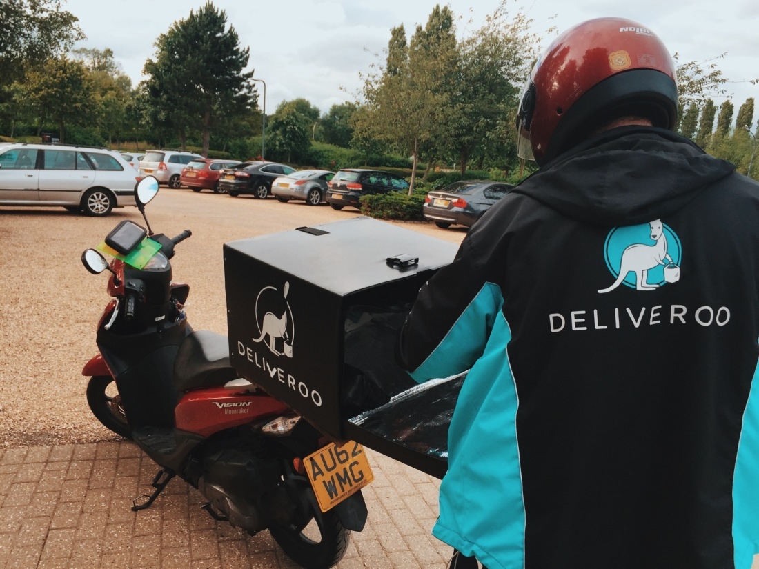 Deliveroo takeaway delivery Milton Keynes review