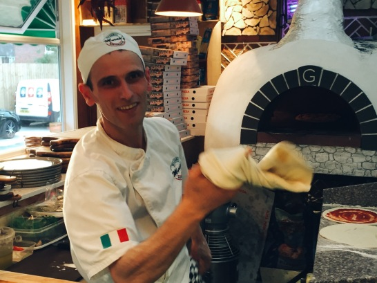 Fresh pizza made to order, Murati's Pizzeria in Wolverton