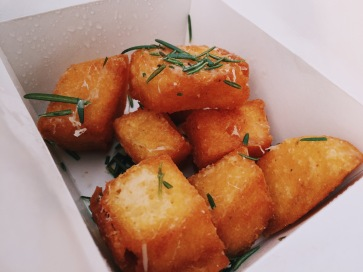 Deliveroo Deep fried Polenta