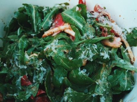 Deliveroo salad Milton Keynes
