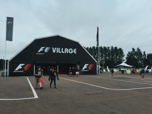 F1 Village at Silverstone