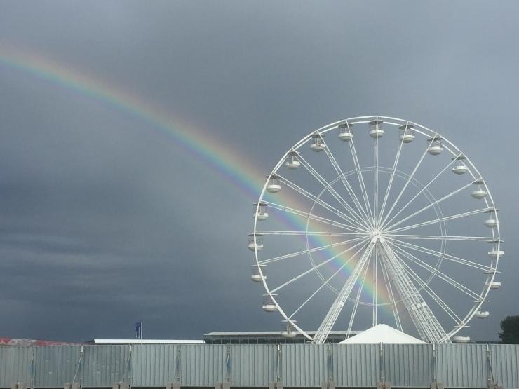 Silverstone 2016 British Grand Prix F1 Big Wheel