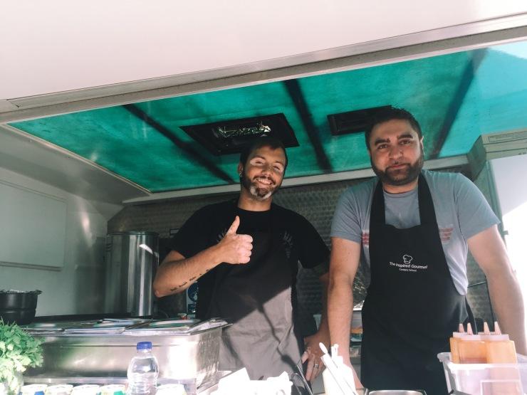 Taco Shack's Robin and Charlie Milton Keynes