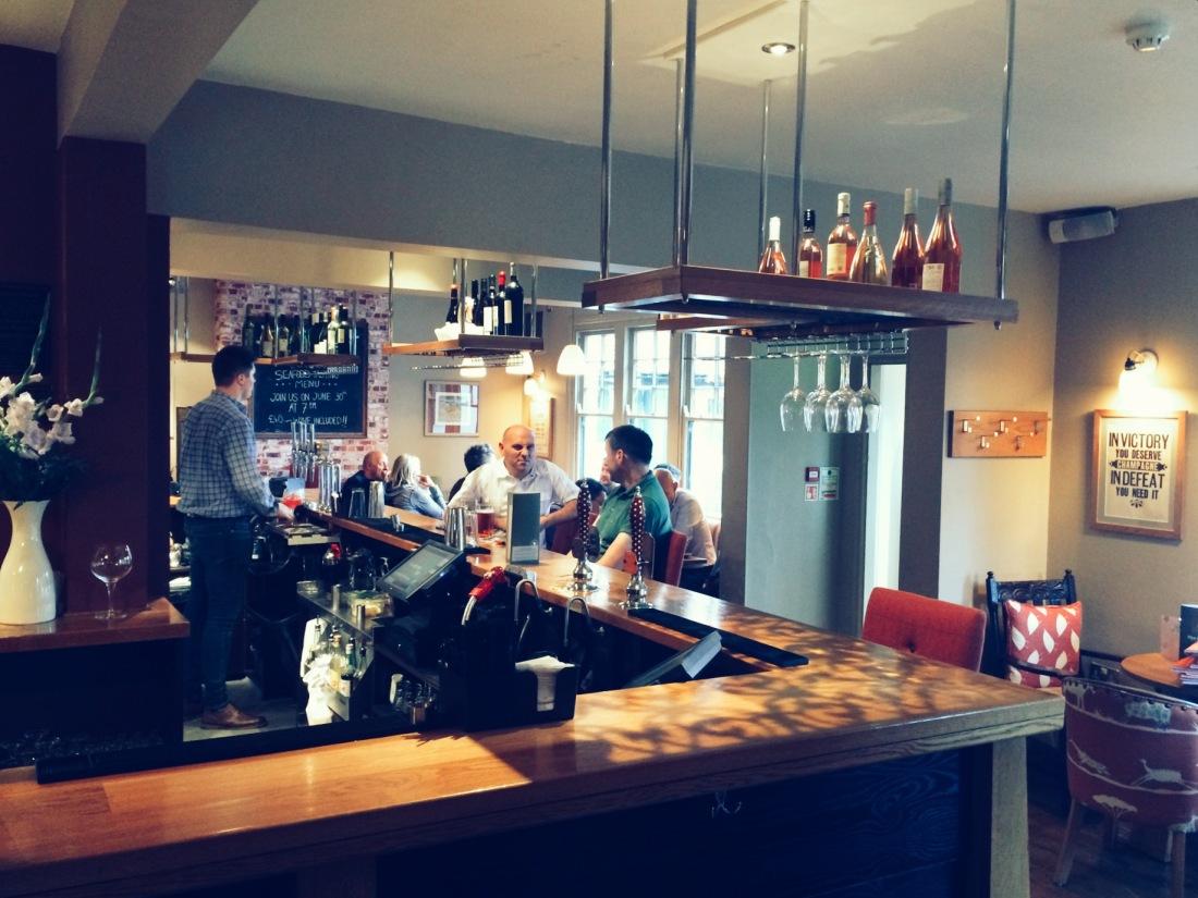 The Swan at Salford bar