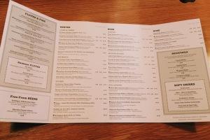 The Swan at Salford drinks menu