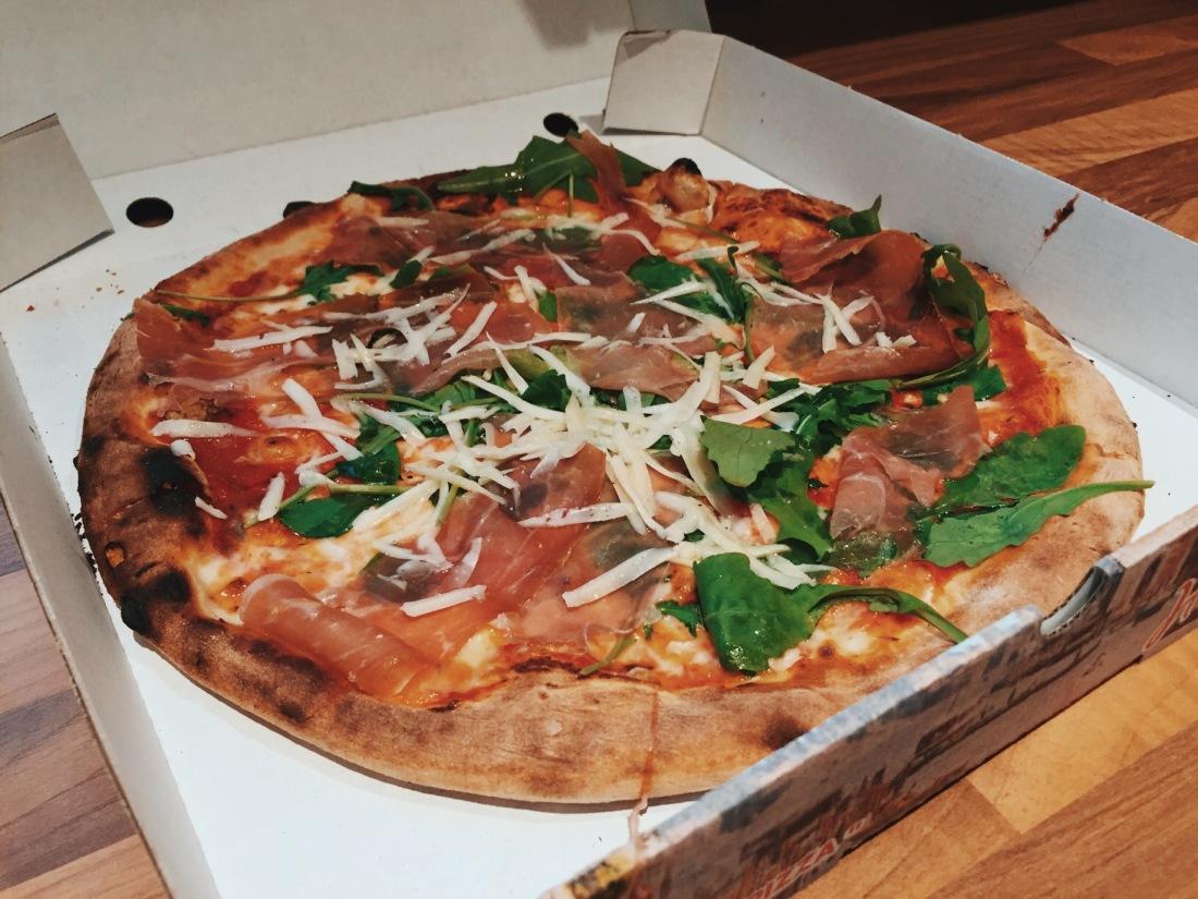 Parma Ham Pizza, Milton Keynes