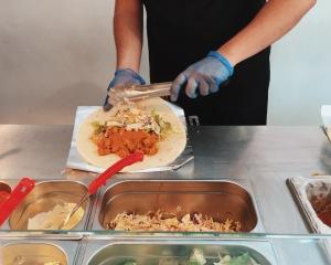Wrapchic Paneer Masala Burrito