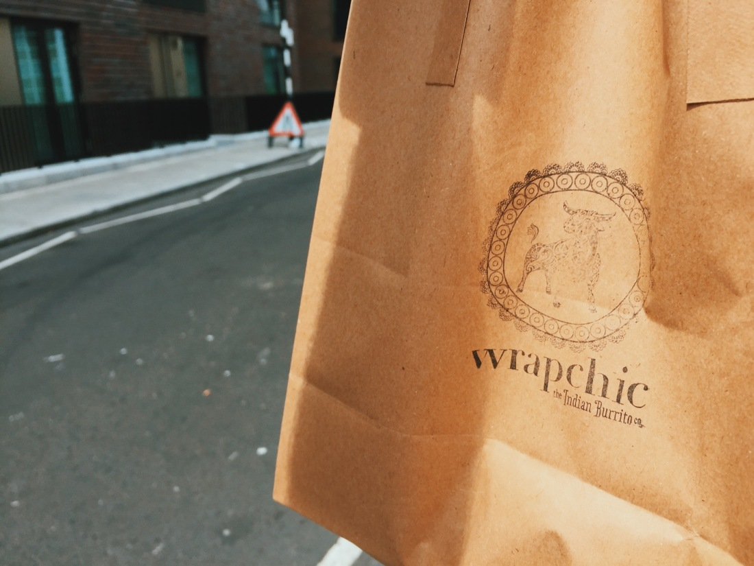 Wrapchic Indian Burrito London Goodge Street Review