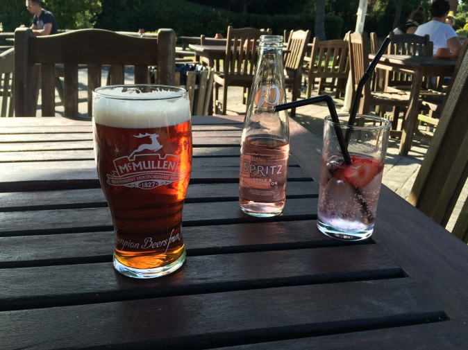 Best pub gardens Milton Keynes