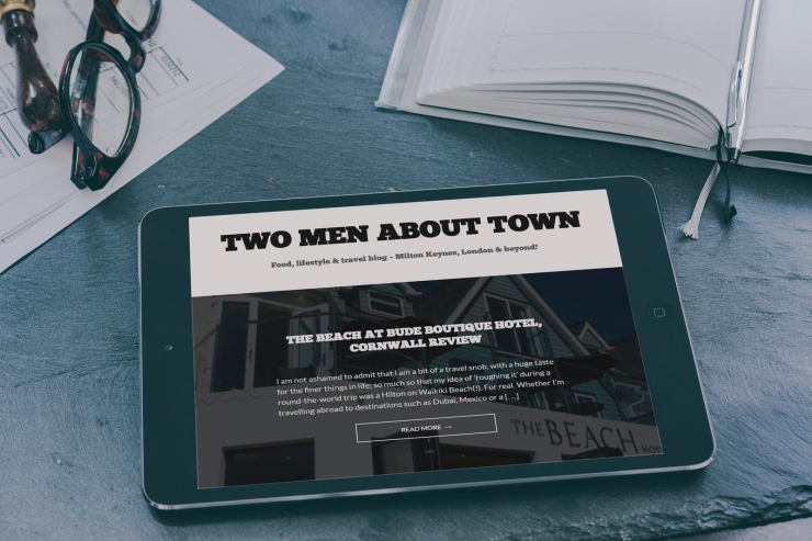 Two Men About Town Blog - MK Digital Awards Finalist