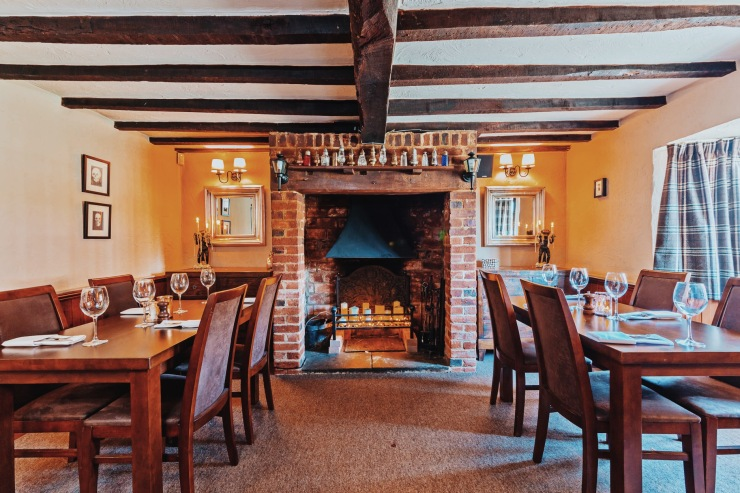 The Swan Inn at Great Horwood Dining Area