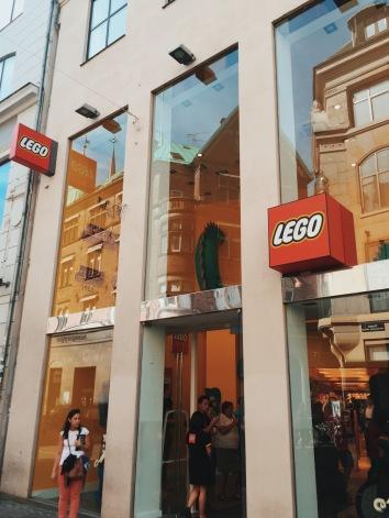 Copenhagen's Lego Flagship