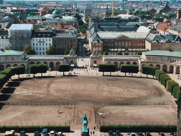 View from Christiansborg Copenhagen Palace - things to do