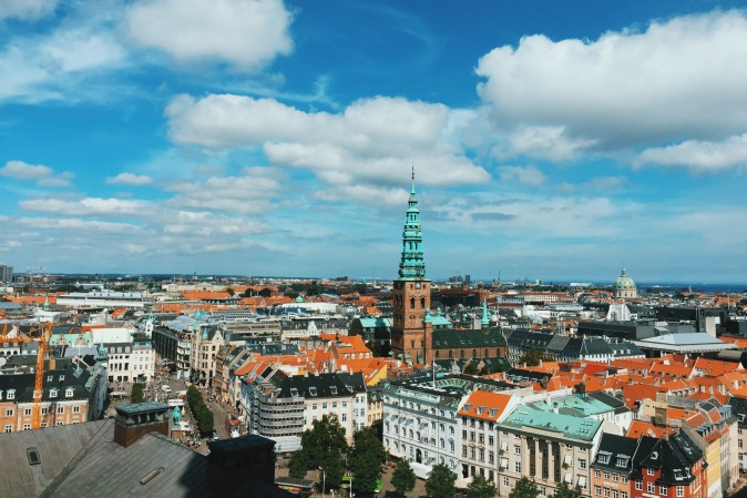 View from Christiansborg Copenhagen Palace - top things to do in Copenhagen