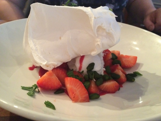 fruit and Meringue