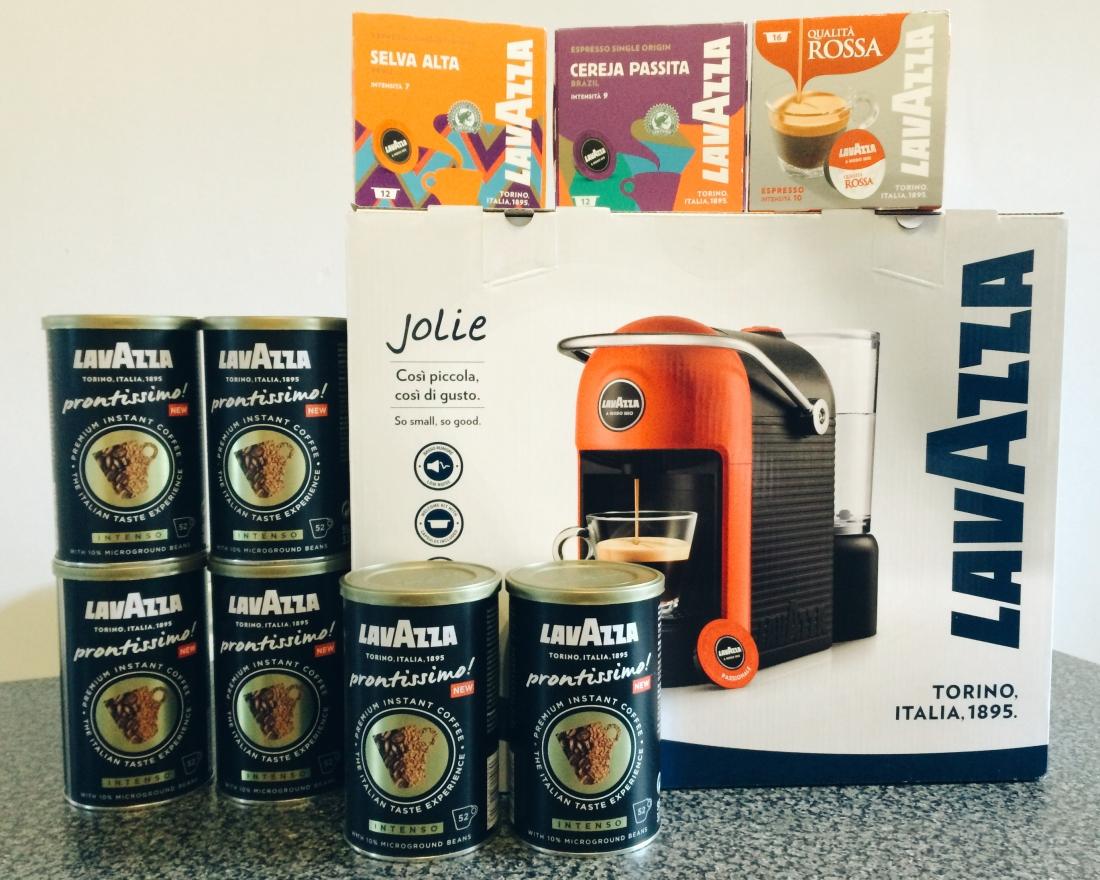 Lavazza Jolie Coffee machine Competition prize