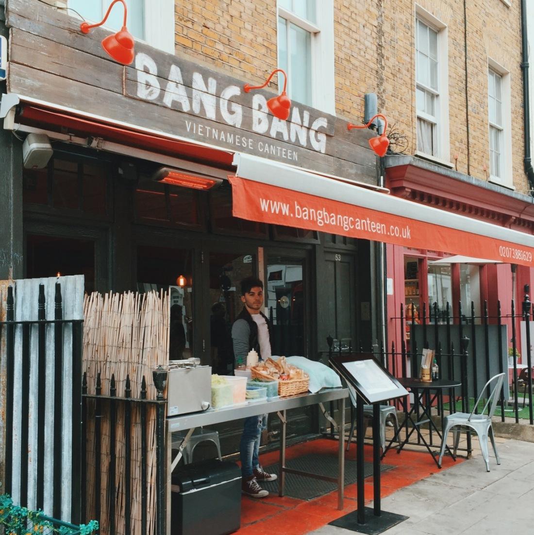 Bang Bang Vietnamese Canteen review London Soho and Fitzrovia