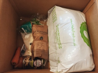 HelloFresh delivery goodies