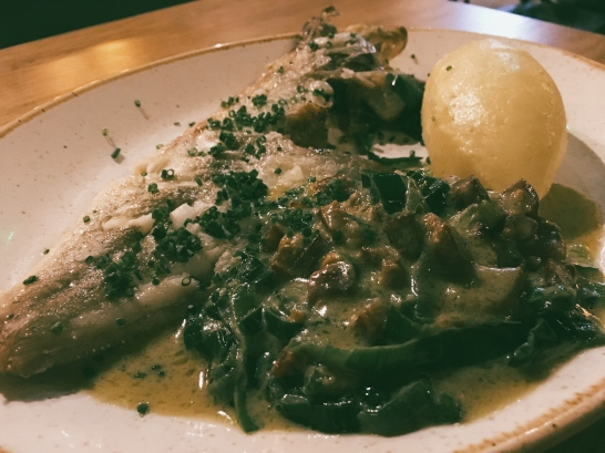 Dover Sole, a bit messy and not great