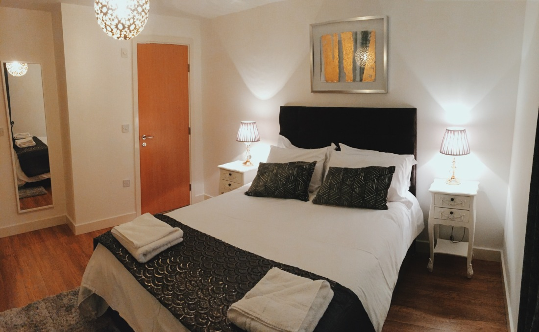 City Stay overnight stay in a double bedroom apartment