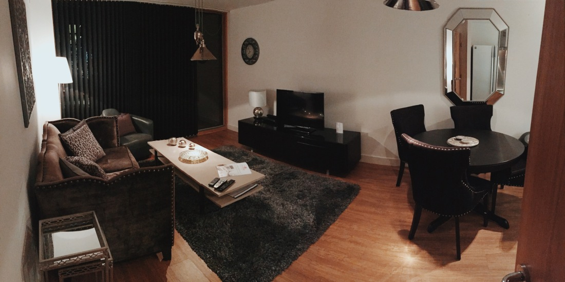 City Stay Milton Keynes lounge apartment review