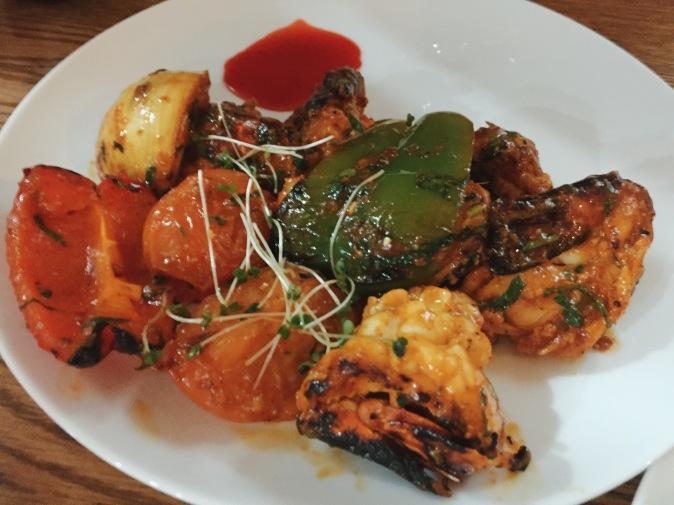 The Don's King Prawn Shashlik restaurant review