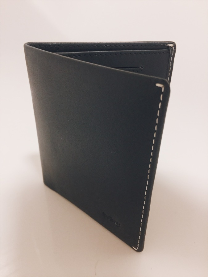 Bellroy Leather Note Sleeve Wallet in Blue Steel review