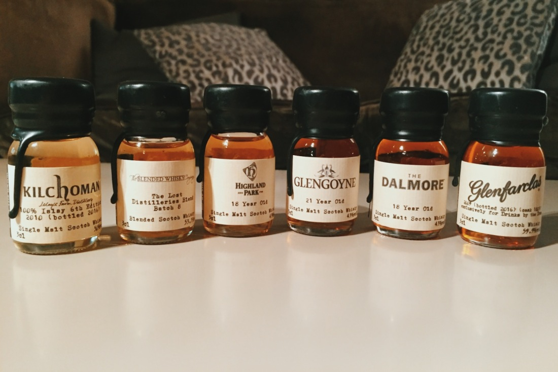 DrinksbytheDram's awesome Whiskey crackers